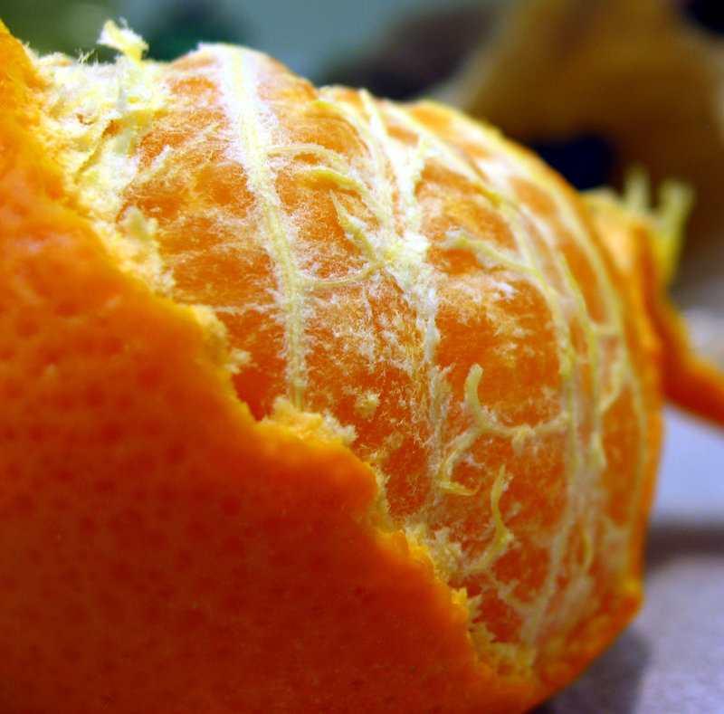 На фото: апельсин