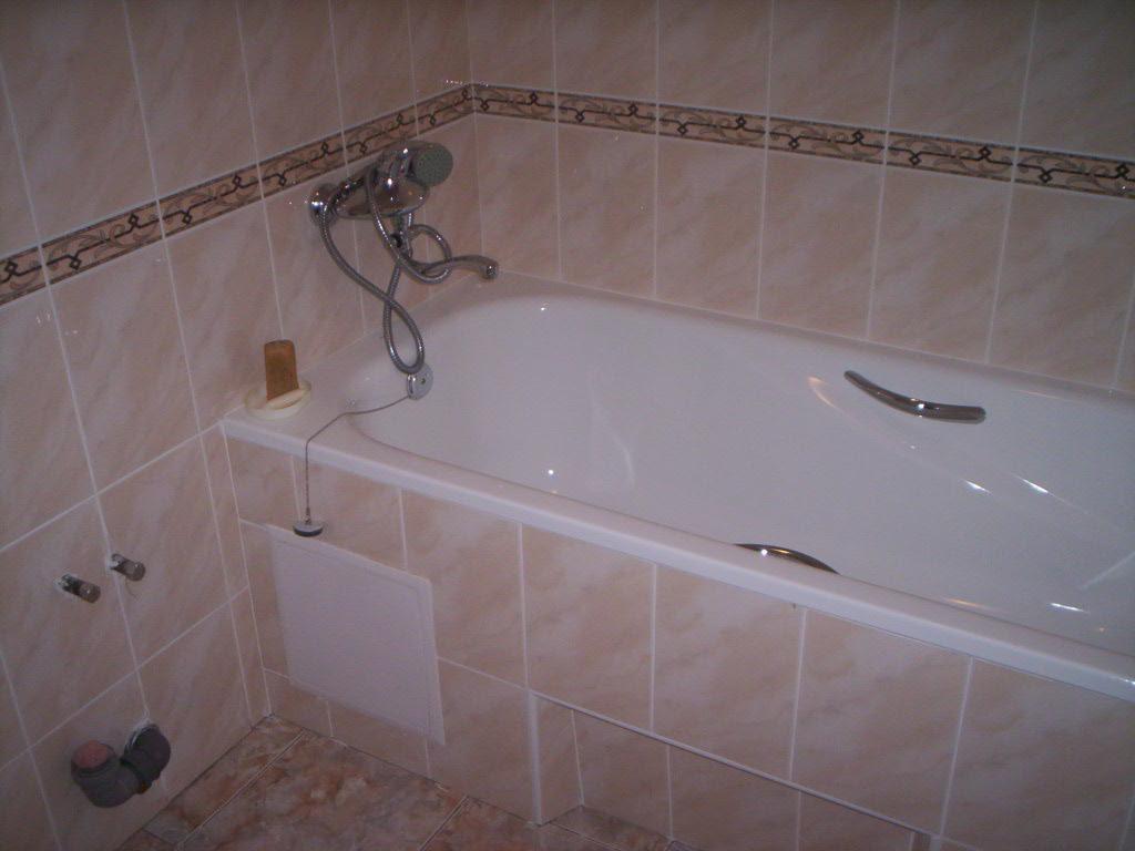 На фото: ванная комната
