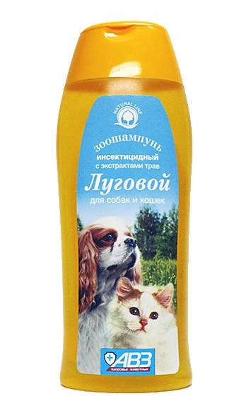 На фото: шампунь Луговой