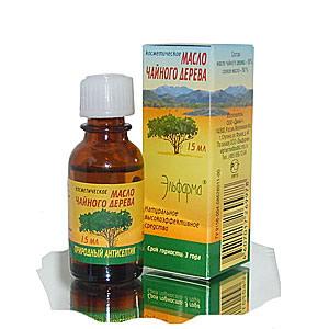На фото: масло чайного дерева