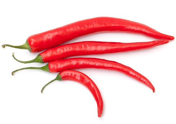 На фото: красный перец