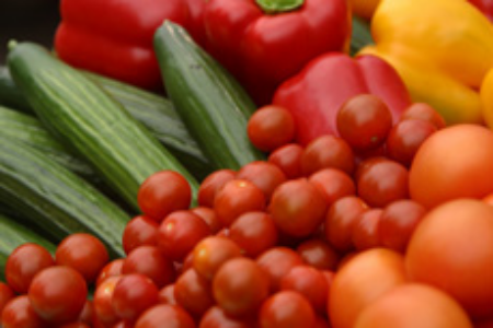 На фото: овощи