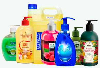 На фото: жидкое мыло